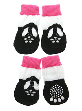 T-Bar Shoe Pet Socks