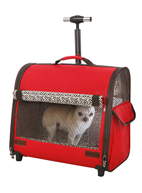 Red Travel Carrier