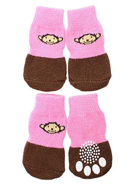 Cheeky Monkey Pet Socks