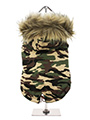 Forest Camouflage Fish Tail Parka